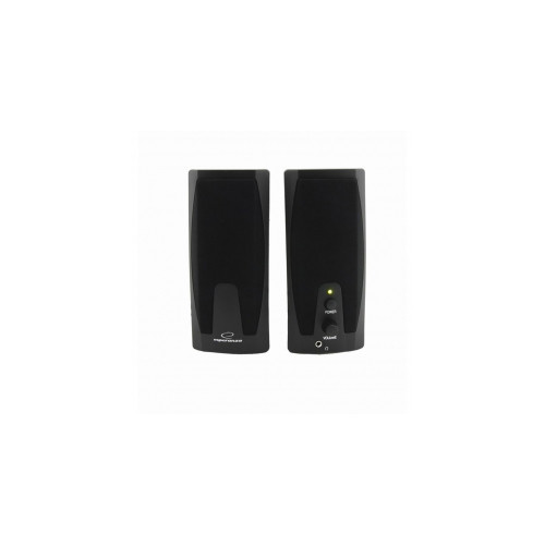 Esperanza EP110 loudspeaker 2-way 6 W Black Wired