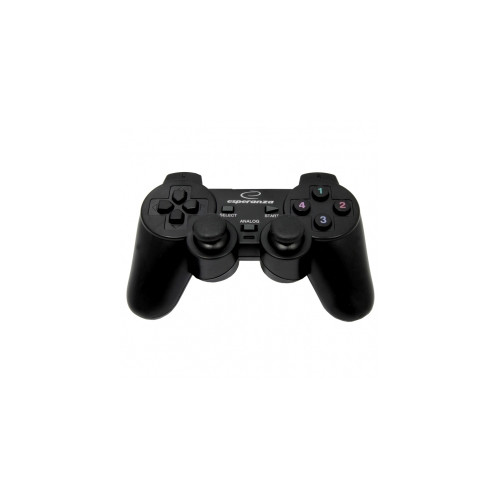 Esperanza EG106 gaming controller Joystick PC, Playstation 2, Playstation 3 Black