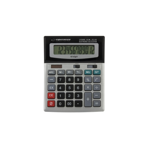 Esperanza ECL103 calculator Desktop Basic Black,Grey