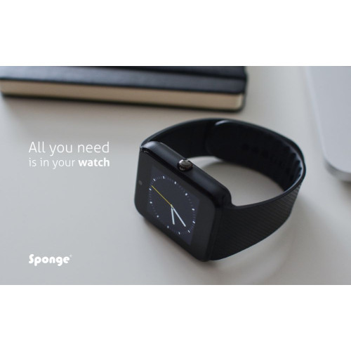 Sponge Awatch black