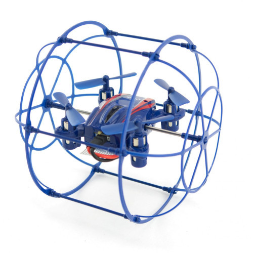 Happy Cow 777-370 2.4G 4CH CLIMB WALL UFO WITH GYRO&USB  blue'