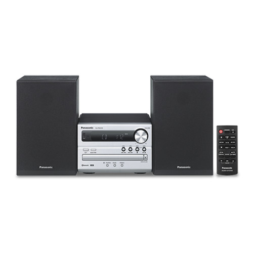Panasonic SC-PM250EC-S home audio set Home audio micro system Silver 20 W