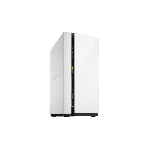 QNAP TS-228 Ethernet LAN Mini Tower Black, White NAS