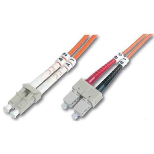 Digitus DK-2632-07 fiber optic cable 7 m LC SC Orange