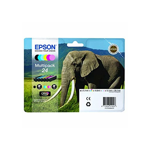 Epson Multipack 6-colours 24 Claria Photo HD Ink ink cartridge