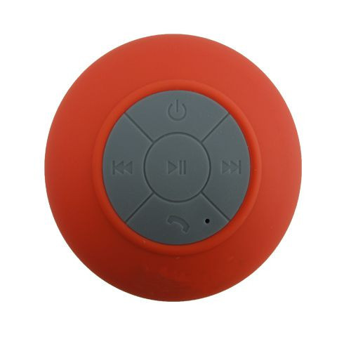 - Waterproof Bluetooth Speaker FKX-068  red