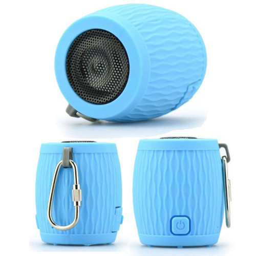 Blun Waterproof Bluetooth Speaker  blue'
