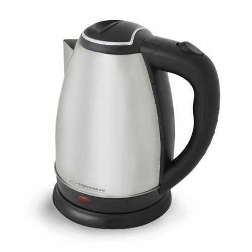 Esperanza EKK004S Electric Kettle TUGELA 1,8 L, SILVER unpolished