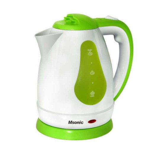 Electric Kettle Msonic MEN438WE | 1,8l, 1800W | white-green