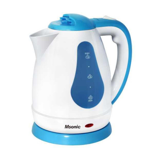 Electric Kettle Msonic MEN438WB | 1,8l, 1800W | white-blue