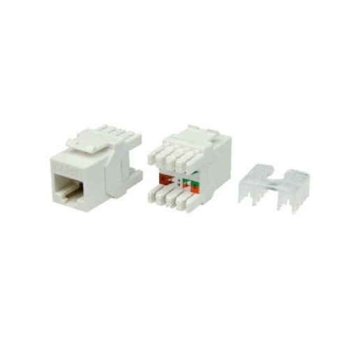Linkbasic Keystone Jack UTP cat. 6 (1xRJ-45) 180°