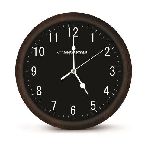 Esperanza EHC015K WALL CLOCK -  LOS ANGELES - BLACK