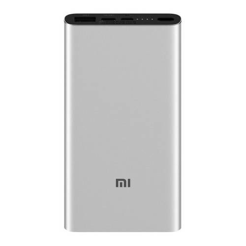 Xiaomi Mi 10000mAh Mi 18W Fast Charge Power Bank 3 Silver Xiaomi