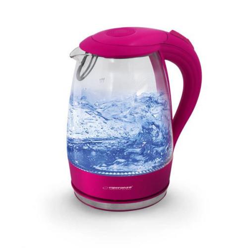 Esperanza EKK011P Electric Kettle glass SALTO ANGEL 1,7 L