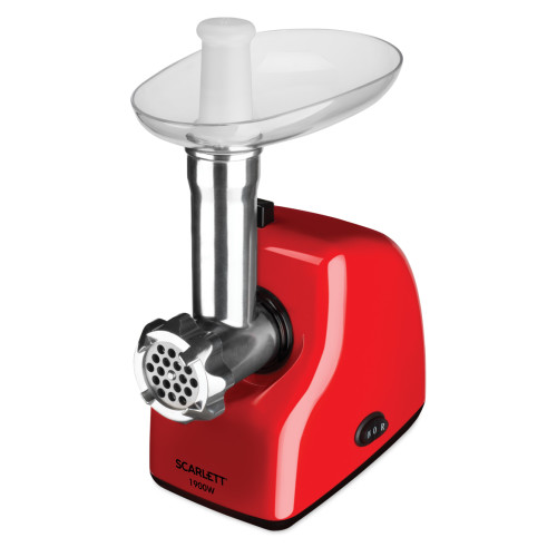 Scarlett Meat mincer SC - MG45S50 Red, 1900 W, Number of speeds 1,