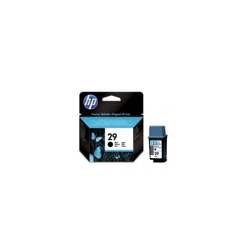HP NO 29 BLACK INK CARTRIDGE, 40ML (51629AE_NB) (bez iepakojuma)
