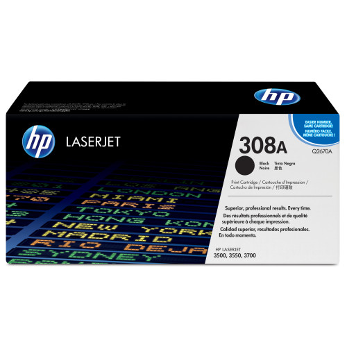 HP 308A 6000 pages Black