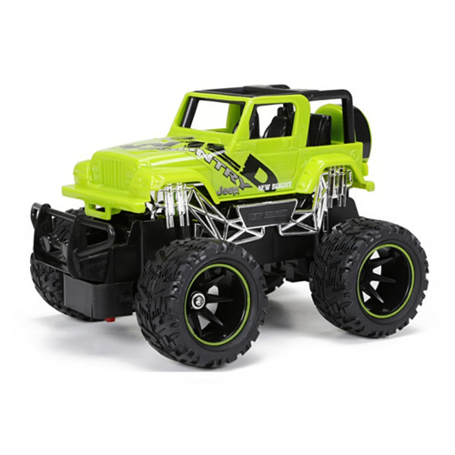 Jeep Wrangler Green R/C, 1:24 Scale