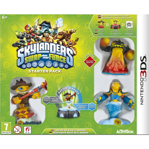 3DS Skylanders: Swap Force Starter Pack