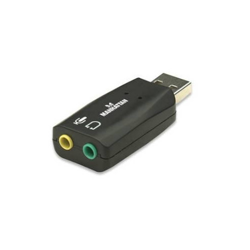 Skaņas karte Manhattan USB 3D Adapter Retail