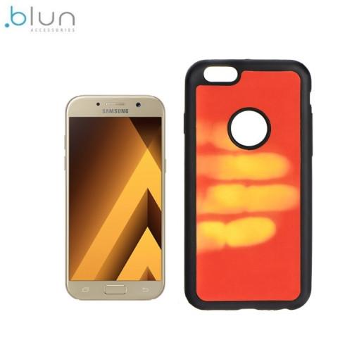 Blun TPU super plāns termo aizmugures maks-apvalks priekš Samsung A520F Galaxy A5 (2017) Sarkans
