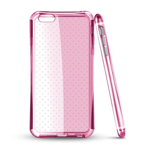 Mocco Dotted Back Case Aizmugurējais Silikona Apvalks Priekš Samsung G900 Galaxy S5 Roza