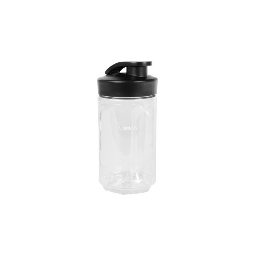 WMF KULT X Mix & Go 300ml Transparent,Black drinking bottle