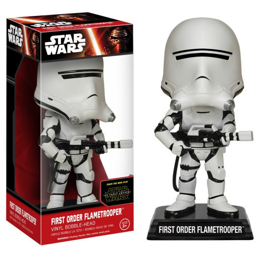 Wacky Wobbler: Star Wars - First Order Flametrooper Vinyl Bubble-Head