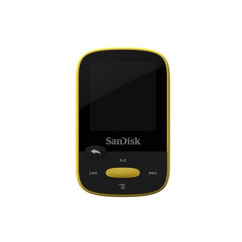Sandisk Clip Sport 8GB MP3 player Black, Yellow