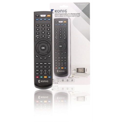 PC Programmable Remote Control 4:1 Universal