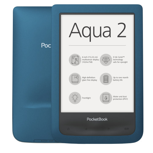 Pocketbook AQUA 2 e-book reader Touchscreen 8 GB Wi-Fi Turquoise