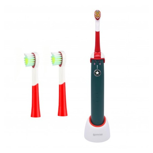 Oromed ORO-SONIC BOY electric toothbrush Child Sonic toothbrush Green, Red, White