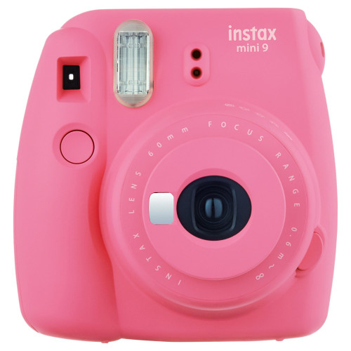 Fujifilm Instax Mini 9 62 x 46mm Pink instant print camera