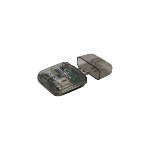 ec890945e64 Esperanza EA132 card reader USB 2.0 Transparent   EA132   Card readers