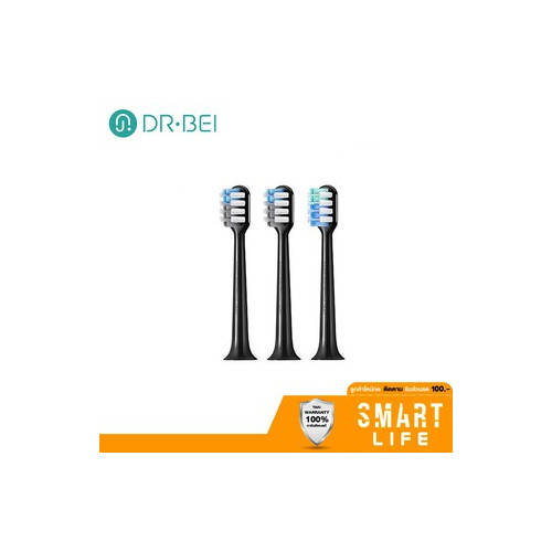 DR-BEI  Sonic Electric Toothbrush Head for BY-V12 Black Gold