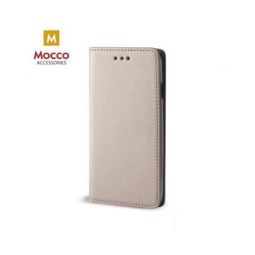 Mocco Smart Magnet Book Case Grāmatveida Maks Telefonam Samsung J530 Galaxy J5 (2017) Zeltains