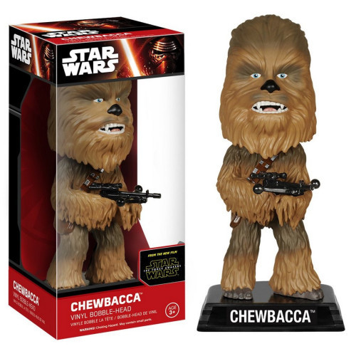 Wacky Wobbler: Star Wars - Chewbacca Vinyl Bubble-Head