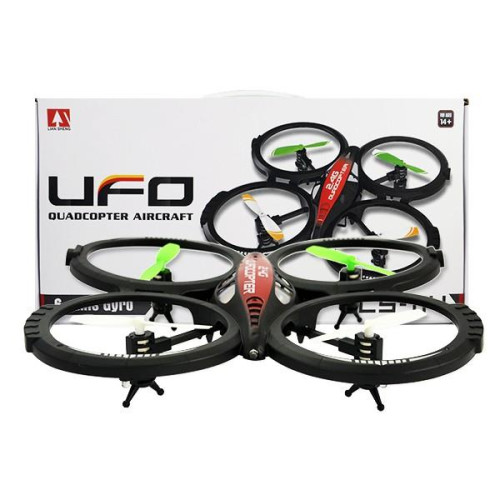 DRON Quadrocopter FLYING AIR NANO BLACK SPY Drone VS145373 After Tests