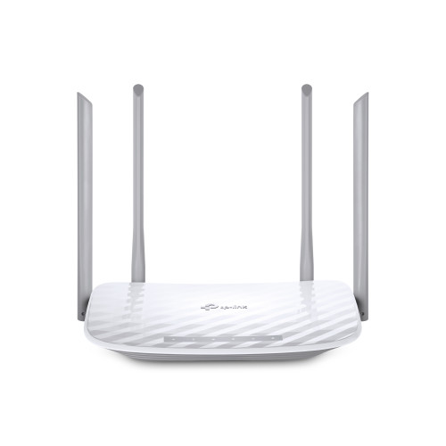TP-LINK Archer C50 Dual-band (2.4 GHz / 5 GHz) Fast Ethernet Grey, White wireless router