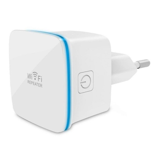 Techly Wireless range extender repeater AP 802.11b/g/n 300N wall-plug