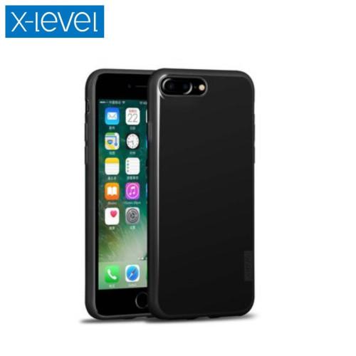 X-Level Neslīdošas virsmas un maiga pieskāriena Ultra-Plāns 0.78mm silikona maks-apvalks priekš Samsung G950 Galaxy S8 Melns