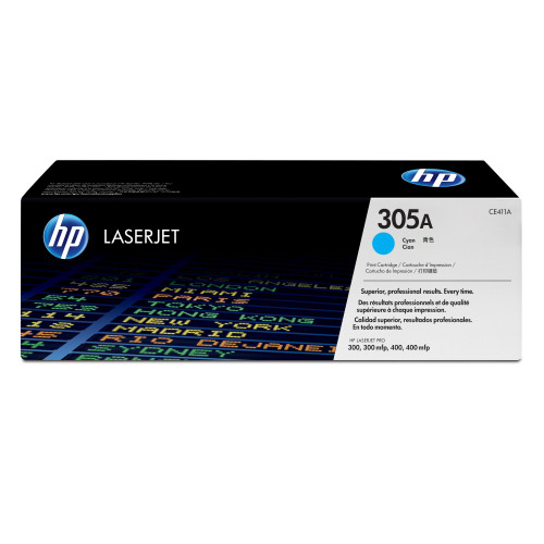 HP 305A 2600 pages Cyan