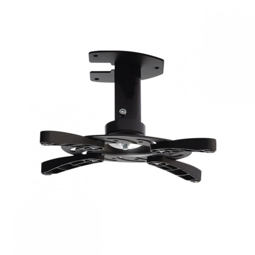 ART Holder P-101 *16cm* to projector black 15KG mounting to the ceiling