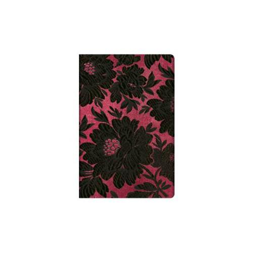 Piezīmju grāmata Chic&Satin (Black Dahlia) 95x140mm