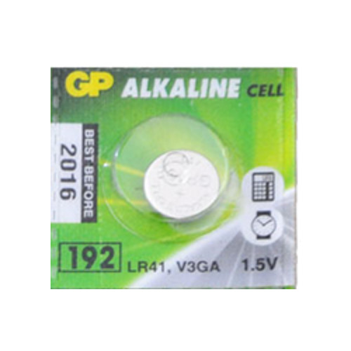 Alkaline button LR41