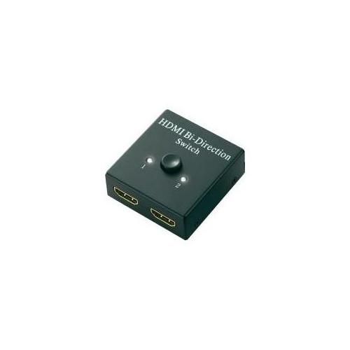 SpeaKa Professional 2 Port HDMI-Switch bidirektional verwendbar 1920 x 1080  Pixel (548324)