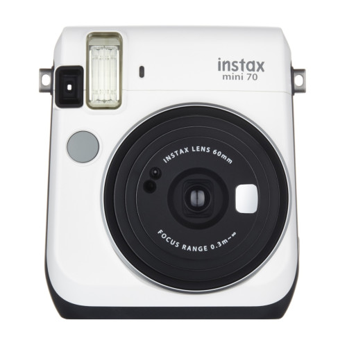 Fujifilm Instax mini 70 instant print camera 62 x 46 mm White