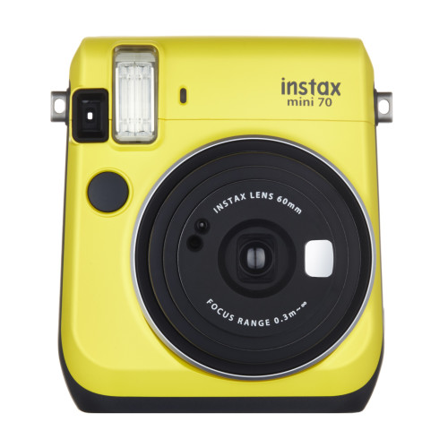 Fujifilm Instax mini 70 instant print camera 62 x 46 mm Yellow