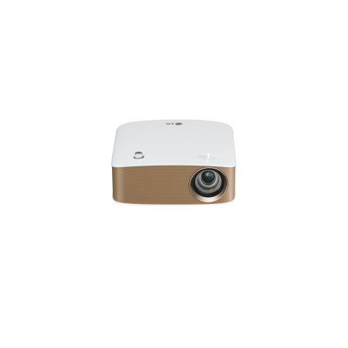 LG PH150G data projector 130 ANSI lumens DLP 720p (1280x720) Portable projector Gold, White