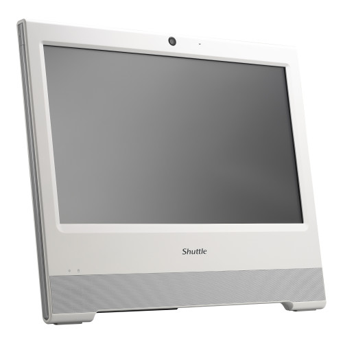 "Shuttle POS X506 POS terminal 39.6 cm (15.6"") 1366 x 768 pixels Touchscreen 1.8 GHz 3865U All-in-One White"